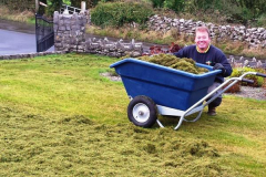 greenhand-lawn-treatment-Removing-the-waste-after-scarification-010